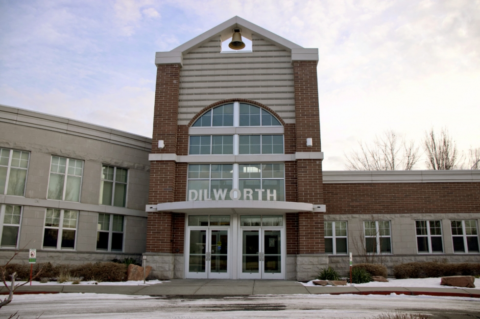 Average annual teachers' salaries at Dilworth Elementary School, located at 1953 S. 2100 East, are 20 percent higher than Backman's. Photos by Cameron Jepperson