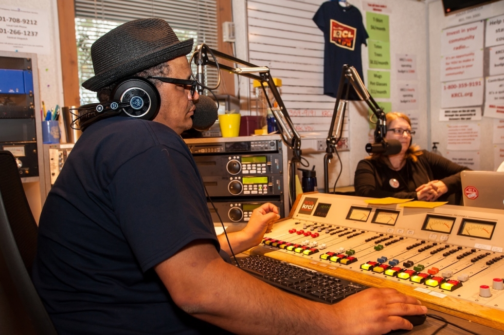 A community radio station on the west side