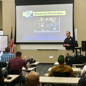 Salt Lake City Police receive de-escalation training