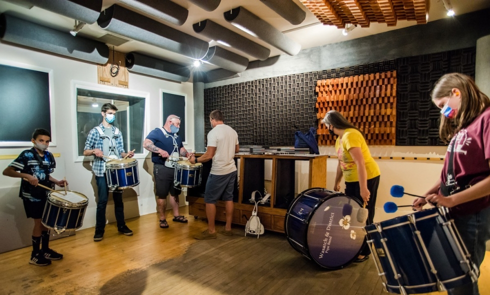 Utah Arts Alliance plans to renovate this recording studio that was designed by the late Tom Hidley, a world-famous studio designer. Out of the nearly 600 studios he helped create, this is one of five remaining.