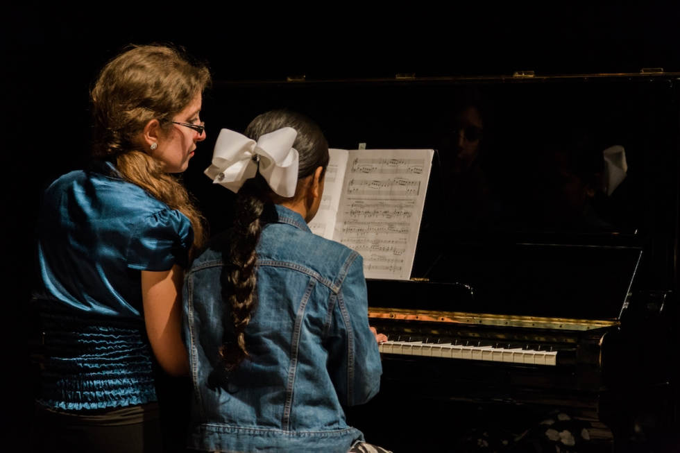 Mundi Project and Utah Classical Guitar Orchestra:  Guitar and piano instruction enhance the Glendale community