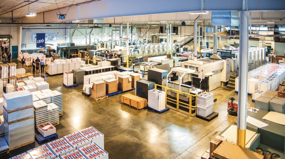 Utah PaperBox, a 101-year-old, high-quality box and packaging company, has built a state-of-the-art plant that saves the company money while making significant cuts in pollution. Photo by David Ricketts