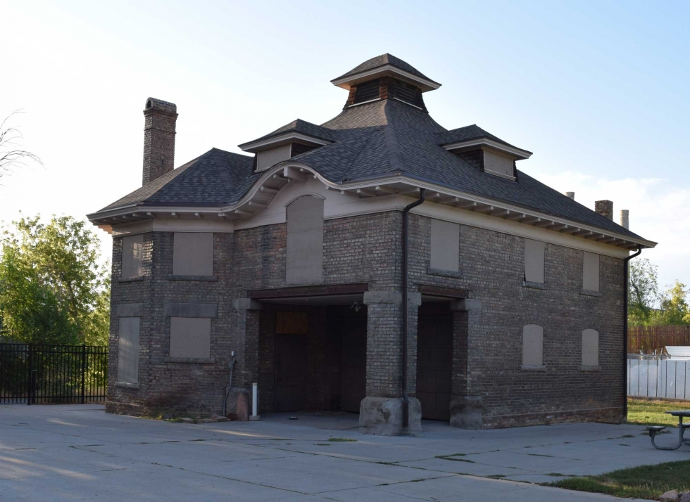 The Fisher Mansion Carriage House renovation was among the favorite projects to receive funding during the city's annual Capital Improvement Program process in 2019.   Photo by Turner Bitton