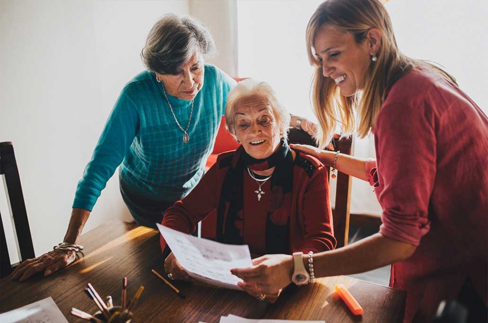 Caring for aging family members can be difficult for everyone involved. Salt Lake Aging Services' Caregiver Support Program can help.