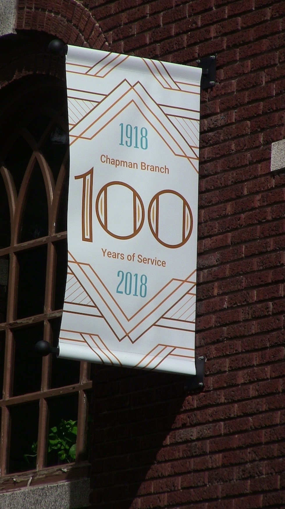 "The Chapman Branch Library is celebrating a hundred years of service to West Side residents with two ""Chapman Chats"" a month during 2018"