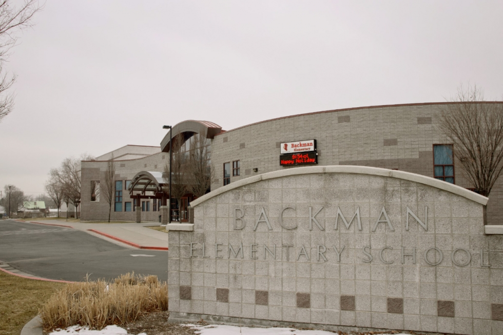Backman Elementary School, located at 601 N. 1500 West., combats the challenges its students face with exceptional administrative staff and innovative programming. Photos by Cameron Jepperson