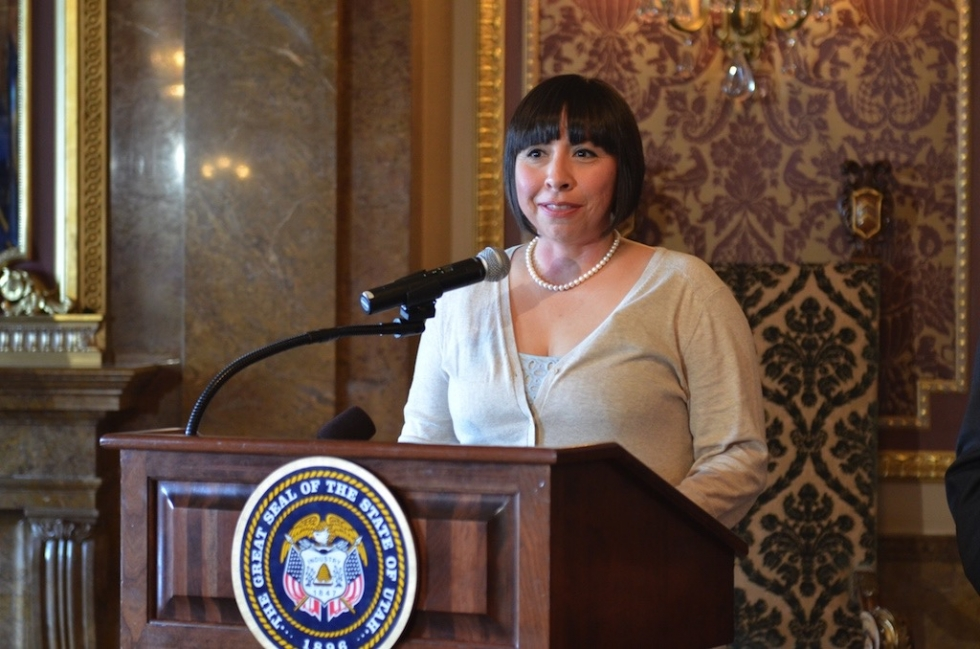 Despite opposition by the Utah Eagle Forum, Utah State Representive Angela Romero was successful in her efforts to get a sex abuse prevention bill passed during her first term in office in 2014.