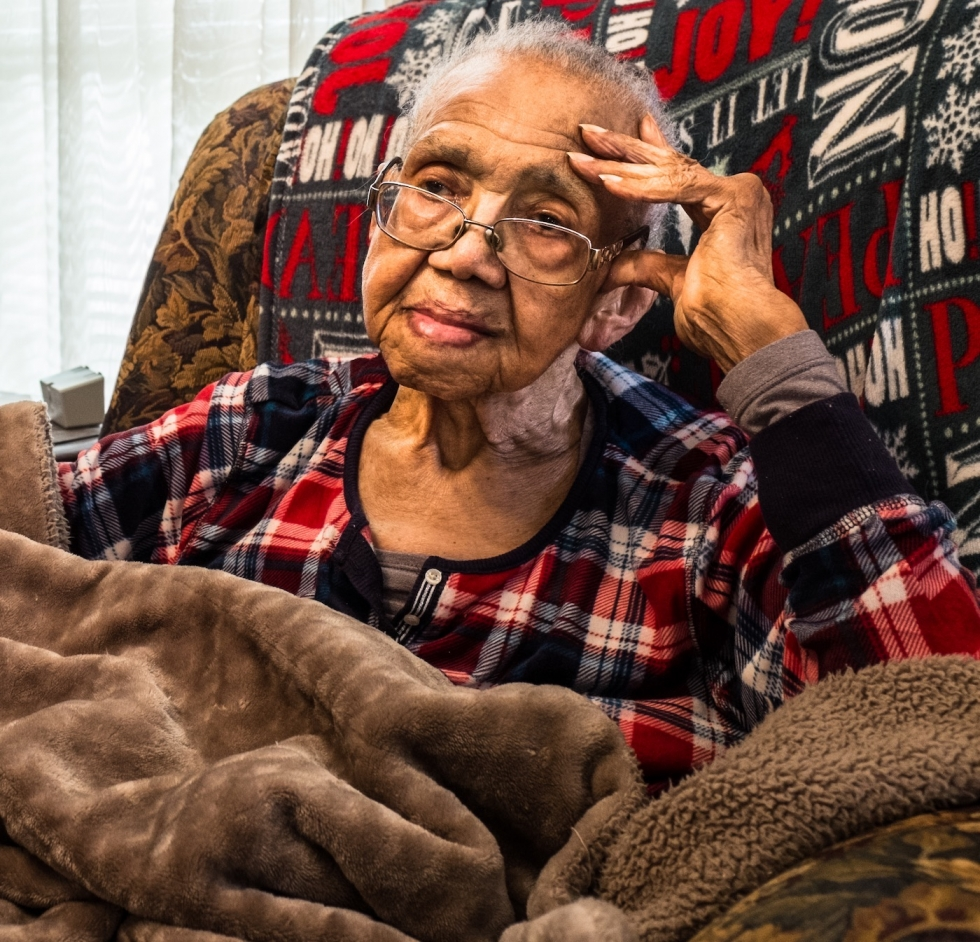 One of the 'Ladies of Post Street' celebrates 99 years of life