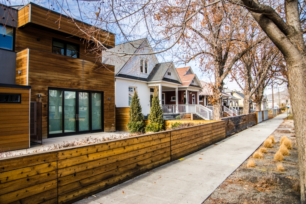 The RDA's residential projects in Central Ninth include owner-occupied townhomes, condominiums, and single-family housing. Developers continue to build larger residential developments without RDA assistance.