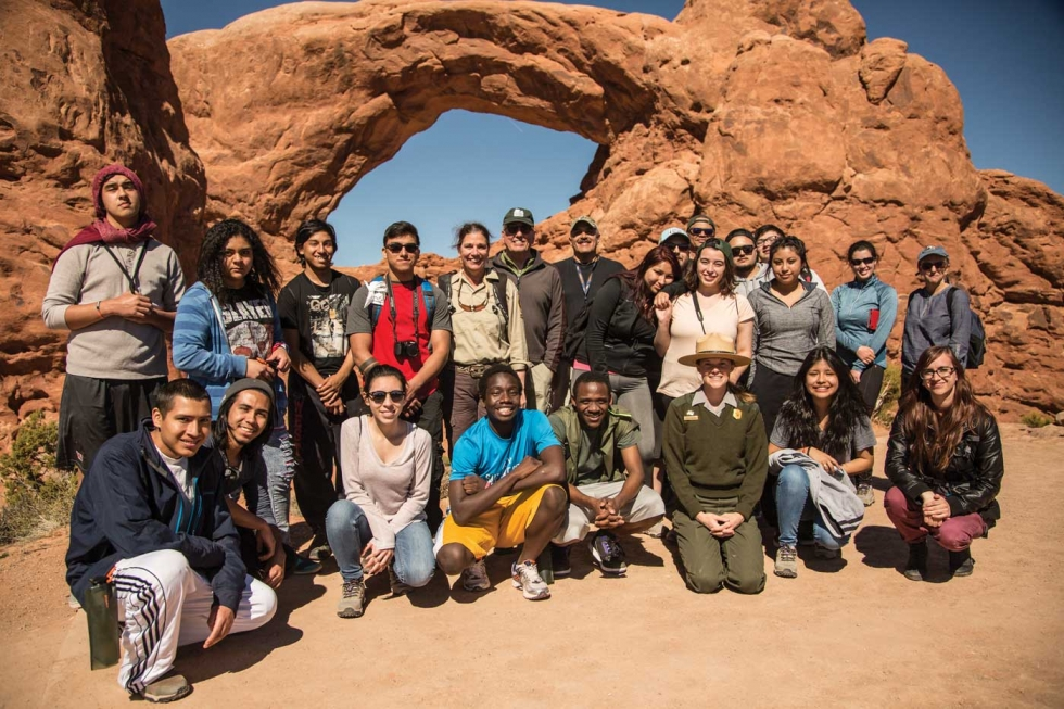 Reflections from 'YouthWorks in the Park' trip