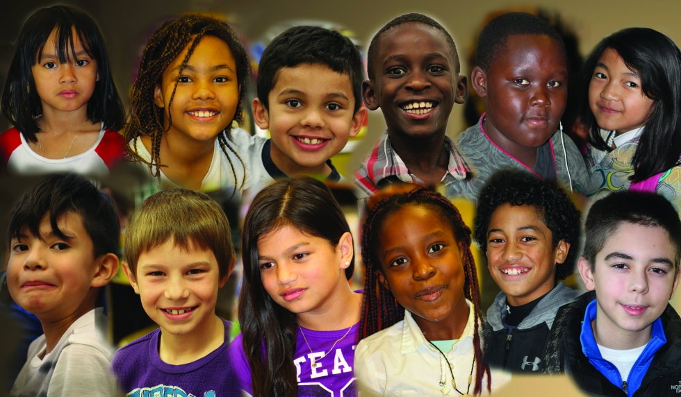 Growing up immersed in diversity
