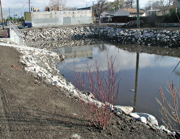 Wetlands facility will treat stormwater flowing into Jordan River